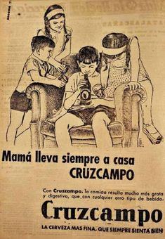 """""""Unacceptable ads today (an unacceptable ad series Beer ad with children by Vintage Advertisements, Vintage Ads, Vintage Posters, Street Marketing, Guerilla Marketing, Beer Advertisement, Advertising, Figure It Out, Grafik Design"""
