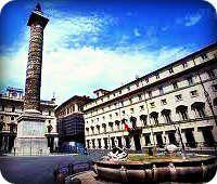 Plaza Colonna Roma