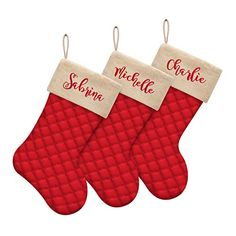Personalized Christmas Stockings - Let's Personalize That Christmas Stockings, Seasons, Holiday Decor, Needlepoint Christmas Stockings, Seasons Of The Year, Christmas Leggings