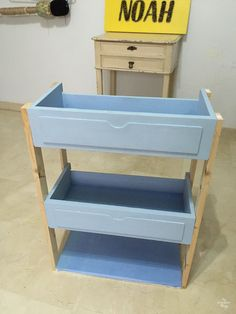 DIY Three Tiered Rolling Cart Out Of Free Finds – Kitchen Furniture Storage