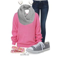 School Outfit, created by natihasi on Polyvore