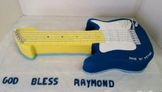 Music Themed Cakes, Themed Birthday Cakes, Confectionery, Coffee Shop, Cake Decorating, Bakery, Guitar, Coffee Shops, Coffeehouse
