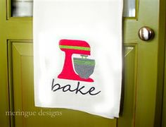 Picture of Stand Mixer meringue embroidery