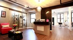 Leona Wilson Salon - Salon Design Ideas by Salon Interiors, Inc