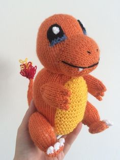 Pokemon Knitting Patterns : This is a knitted pattern for the pokemon Charizard ...