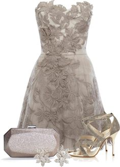 """Romantic lace"" by tchantx ❤ liked on Polyvore"