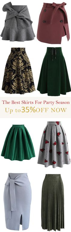 Best 50+ Party Skirts