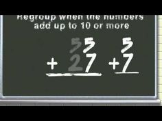 Regrouping addition song