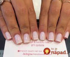 35 Splendid French Manicure Designs: Classic Nail Art Jazzed Up French gel manicure with a light pink base and thin white tips French Manicure Nails, French Manicure Designs, Manicure E Pedicure, Gel Nail Designs, Nails Design, White Tip Nails, French Pedicure, Pedicures, White Manicure