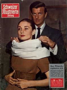 Givenchy x Audrey Hepburn magazine cover