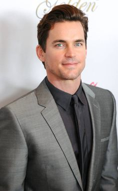 That Face! from Matt Bomer's Hottest Pics  What can we say? He's rather perfect-looking.