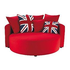 Union Jack canape