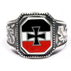 WWII German Silver Volunteer Ring