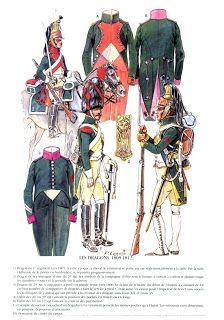 Dragoni di linea Truppa 1805-1811