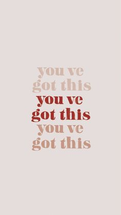 """""""you've got this"""" inspiring words, Inspirational Quotes, Quotes to live by, enco… The Words, Cool Words, Motivacional Quotes, Woman Quotes, Boss Quotes, Mantra Quotes, Quote Life, Pretty Words, Beautiful Words"""