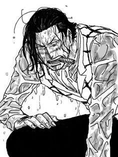 He looks so sexy. *___* Sir Crocodile One Piece