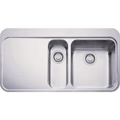 Franke Sinos 251 Stainless Steel Kitchen Sink- 1.5 Bowl