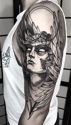 Angel Raphael Tattoo