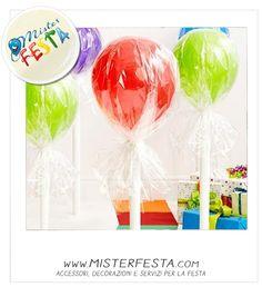#lollipop giganti per un #sweet #party