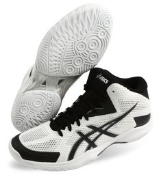 new product 5a4a3 ccc6e ASICS Gel V-SWIFT FF MT Men s Badminton Shoes White Black Indoor TVR491-0190