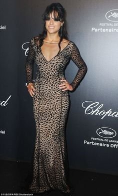 Stunning: The Furious 7 star has been enjoying herself at the Cannes Film Festival, where ...