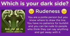Which is your dark side? You Know Where, Say Anything, Dark Side, Patience, Sayings, Day, Lyrics, Quotations, Idioms
