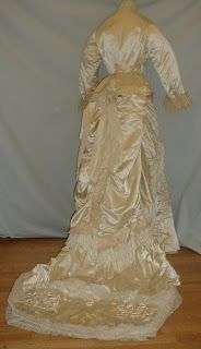 1870's Wedding (?) Dress
