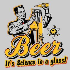 Captain Leisure » T-Shirts » Brews & Booze » Beer Science