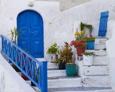 Blue door, Greece #2