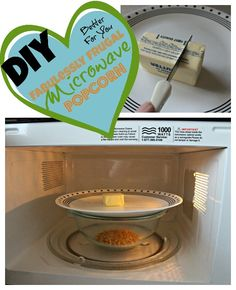 Make your own microwave popcorn. Simple DIY trick.