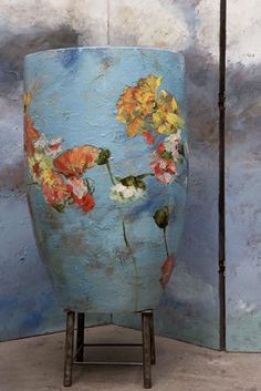 "Claire Basler Barbotine 29 from the post "" Tree Hug "" on Veniceclayartists"