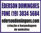 EDERSON DOMINGUES INFORMATICA, Criação e Hospedagem de sites e Lojas Virtuais.