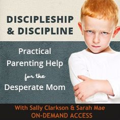 I bought the recorded version of this webinar for 17.99 (yay for birthday money) and it was probably the best 17.99 I've ever spent! So encouraging, helpful - like a breath of fresh air. I would recommend it to any mom!