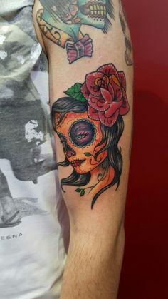 Calavera tattoo Instagram  ;@jonatattoo  Fb.page; @jona tattoo art Email ;jonatattoo@email.it