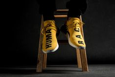 """The Pharrell Williams x Adidas NMD """"Human Race"""" will be releasing on July 2016 at select Adidas Originals shops.This is the first NMD collab with pharrell Milan Fashion Weeks, New York Fashion, Teen Fashion, Runway Fashion, Paris Fashion, Sport Outfits, Winter Outfits, Summer Outfits, Athletic Outfits"""