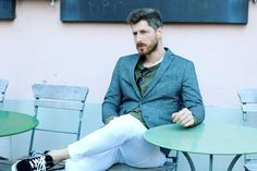 #blazers #sunny #vansoldskool #whitepants #sweater #beards #streetstyle #menwithstyle #goodlooking #self #vibes #goodlife #fashion #styleblog #musthave #stronger #colorful #minimalism #italianstyle #weekends #wild #beards #easter Men Street, White Pants, Italian Style, Vans Old Skool, Beards, Sunnies, Minimalism, Blazers, How To Look Better