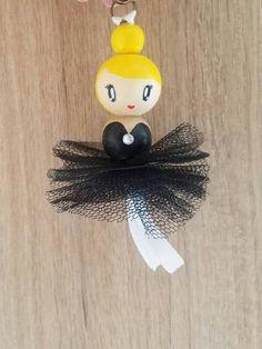 Bijoux de sac ballerine tulle noir | Etsy