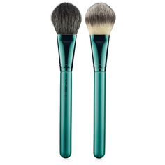 MAC 'Alluring Aquatic' 127 Split Fiber Face Brush (Limited Edition) ($35) ❤ liked on Polyvore featuring beauty products, makeup, makeup tools, makeup brushes, beauty, fillers, accessories, face brush, face makeup brushes and facial brush