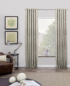 Grommet drapes & curtains offers a crisp, modern look perfect for stylish interiors. Grommets are hand-pressed into the fabric of your choice.