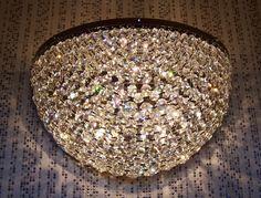 Crystal wall lamp. Luchiante.com