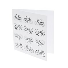 Bicycles Card by TickTackToe Design