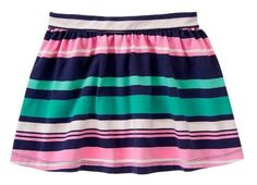 NWT Gymboree HOP 'N' ROLL Multi-Striped Skirt   Available in our online store at http://stores.ebay.com/starbabydesignshomestore