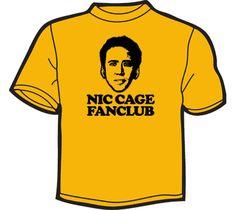 Nicolas cage fan club