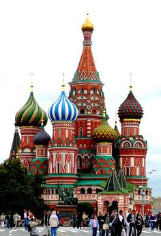 Kremlin and Red Square, Moscow, Russia #travel #travelphotography #travelinspiration