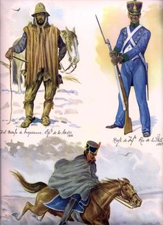 Miembros del Ejercito de Los Andes Argentine, Historical Images, American War, Interesting History, Military History, Victorian Era, Battle, Army, Yerba Mate