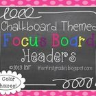 Do you include a Focus Board in your classroom design? If not, you should really think about it! Focus Boards are a great way to show your kids wha...