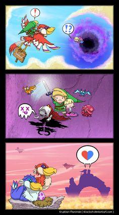 Zelda Skyward Sword Short Comic by *Purrdemonium on deviantART