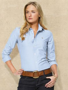 9572141bd067 Polo Oxford This Oxford is amazing! It is so comfortable   versatile- a  definite a staple piece everyone needs in their closet!