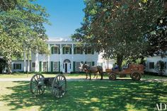 Look Inside Ted Turner's Storied Southern Plantation  The media mogul's Avalon Plantation is located just outside of Tallahassee, Florida
