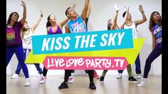 Kiss The Sky | Zumba® | Live Love Party - YouTube